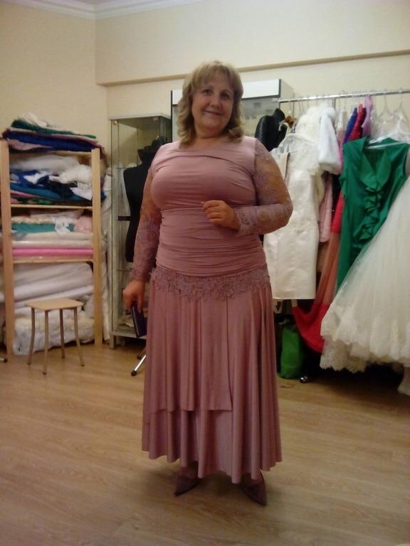 Пошив платья для полных