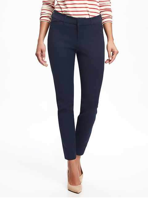Mid-Rise Pixie Ankle Pants for Women - Goodnight Nora