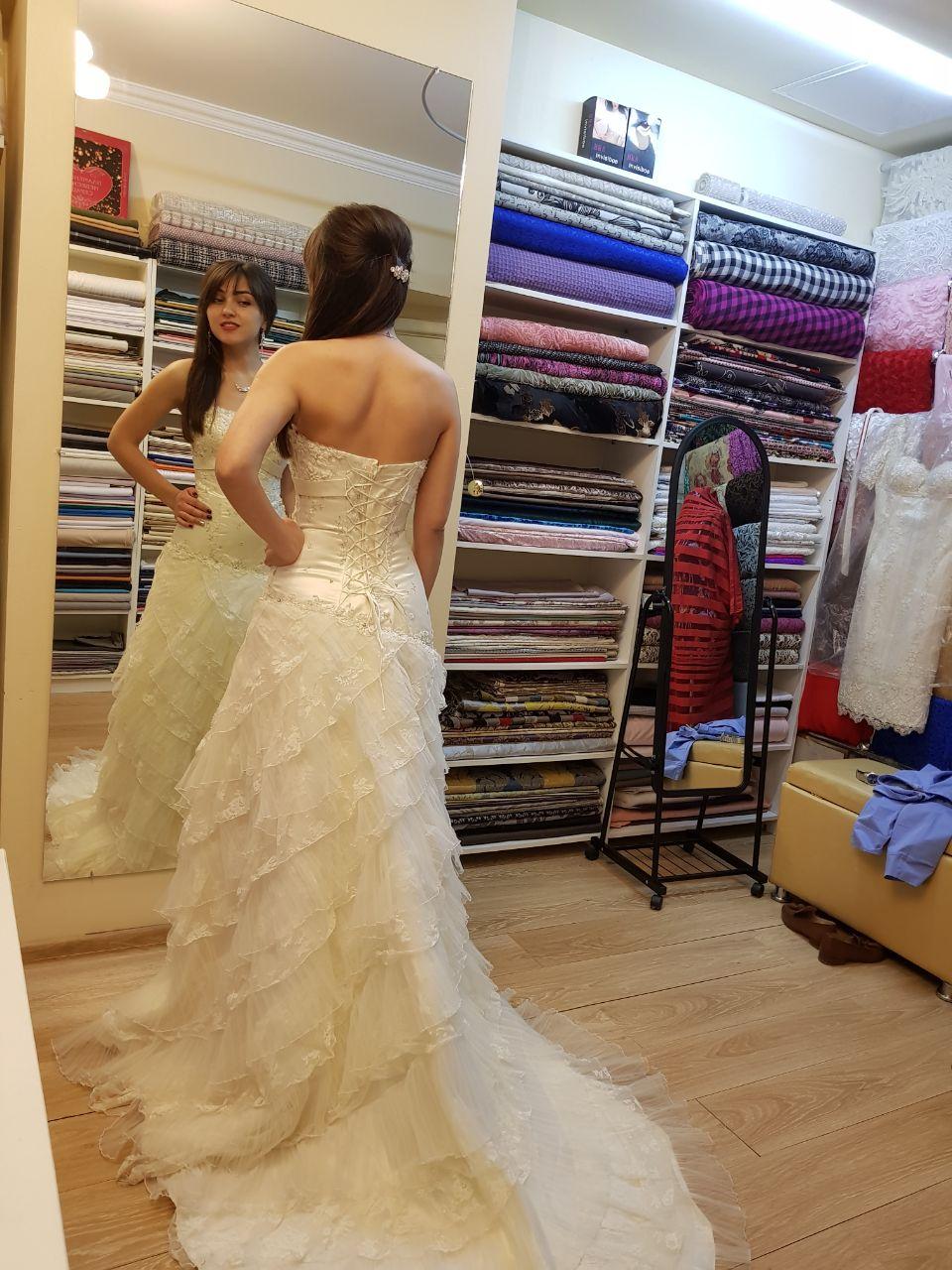 свадебное платье сшить на заказ