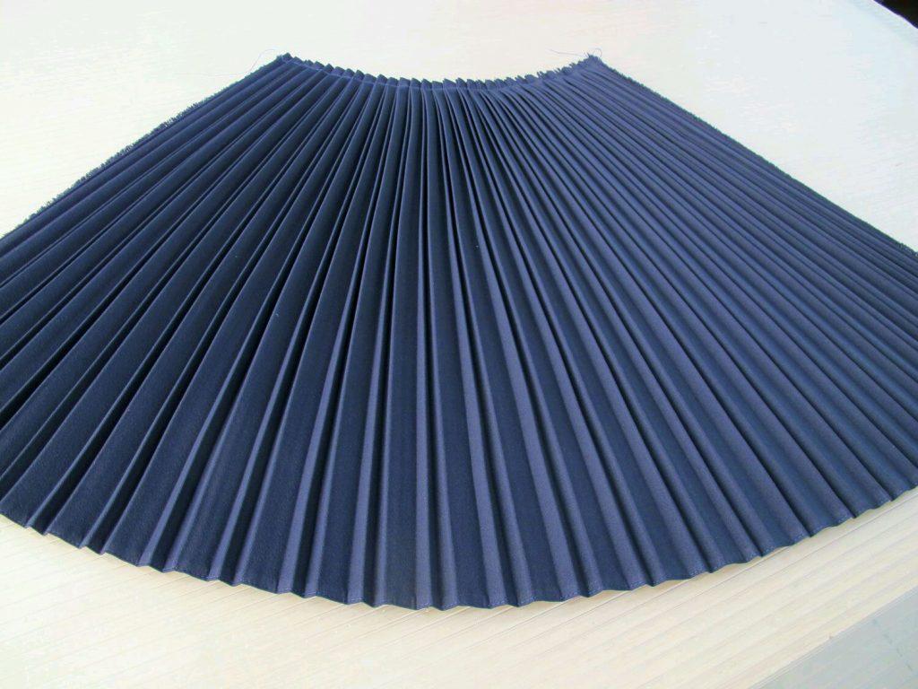 Изготовление плиссировки ткани в Москве